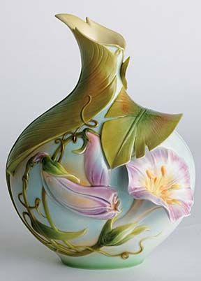 g.g.santiago vases | franz porcelain g. g. santiago vase