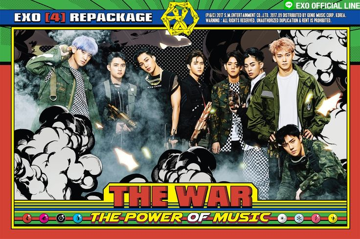 EXO The power of music 2017