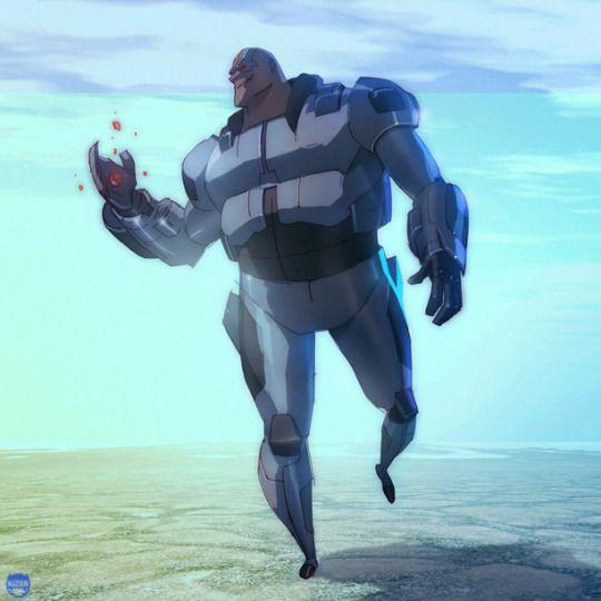 """Cyborg by Coran """"Kizer,"""" Stone"""