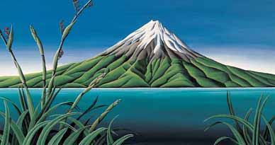 Taranaki Coast Print on Canvas by Diana Adams for Sale - New Zealand Art Prints