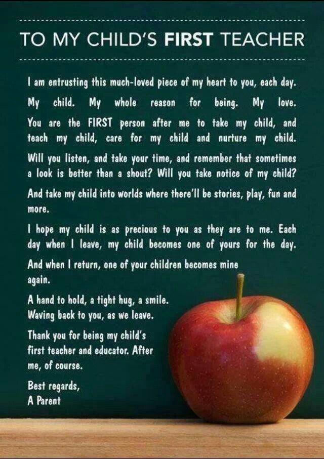 Teacher Inspiring Quotes Teacher School Starting School