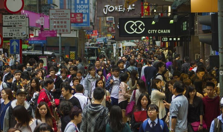 Mongkok - Hong Kong's Mongkok, the most densely populated place on the planet