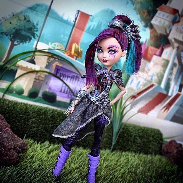 Макияж для куклы Рэйвен Квин Игры Драконов (Dragon Games)
