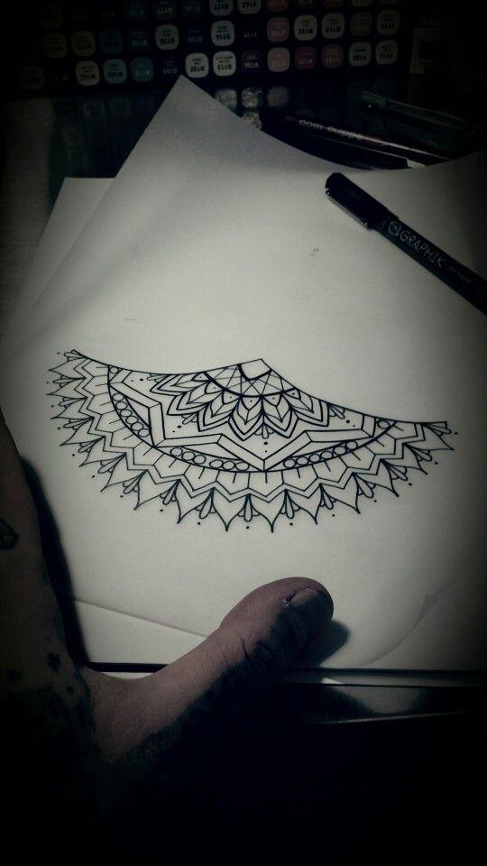 Underboob Mandala by Justin Eaton