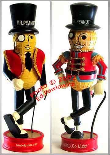 Mr. Peanut Nutcracker