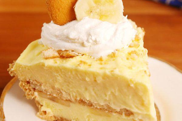 Muz Pudingli Cheesecake