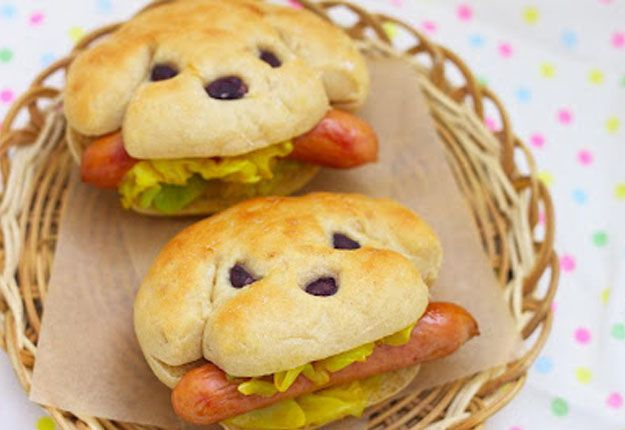 Puppy Hot Dogs, From the top 20 kids party food ideas | Mouths of Mums