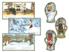 This bulletin board set features the artwork and story of The Mitten by Jan Brett. Includes 14 scenes, 1 large mitten scene, 20 small mitten scenes and 5 decorative accents. --(C) 2013 Jan Brett.(TM) 2013 Penguin Group (USA) Inc.