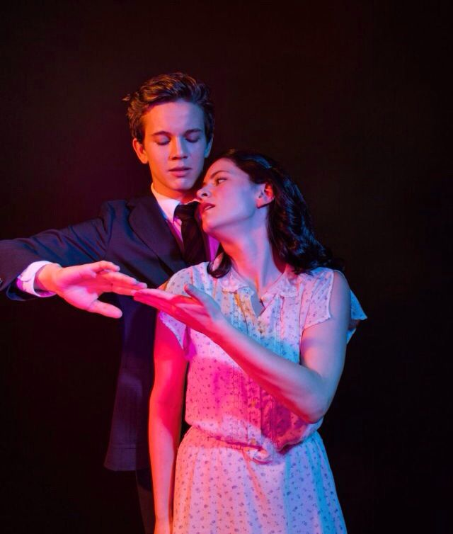 Austin McKenzie and Sandra Mae Frank as Melchior and Wendla in Spring Awakening. Inspiration for Marianne's yellow dress