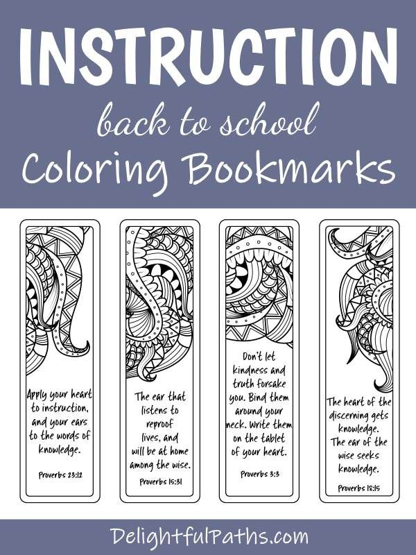 Back to School Printable Coloring