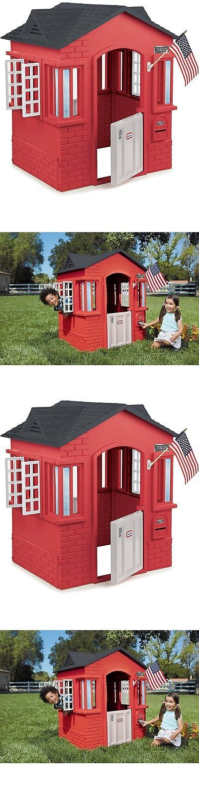 1000 ideas about plastic playhouse on pinterest for Used kids playhouse
