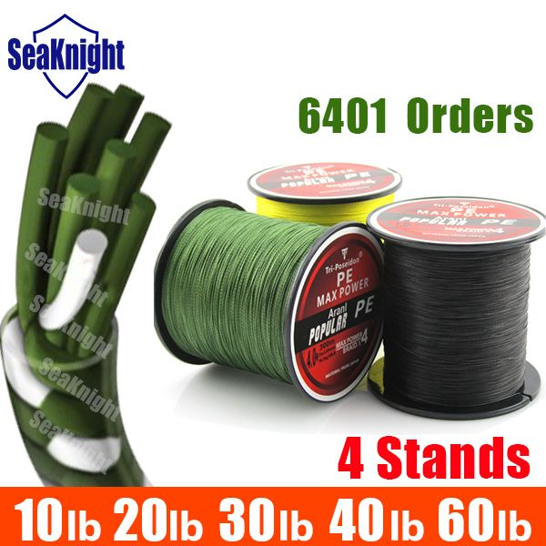 TriPoseidon Brand 300M 330Yards Multifilament PE Braided Fishing Line 4 stands 8LB 10LB 20LB 30LB 40LB 60LB new 2015-in Fishing Lines from Sports & Entertainment on Aliexpress.com   Alibaba Group