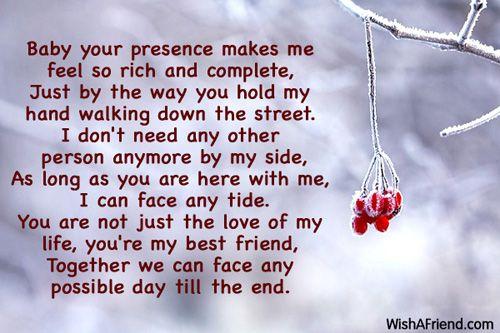 Poems For Boyfriend