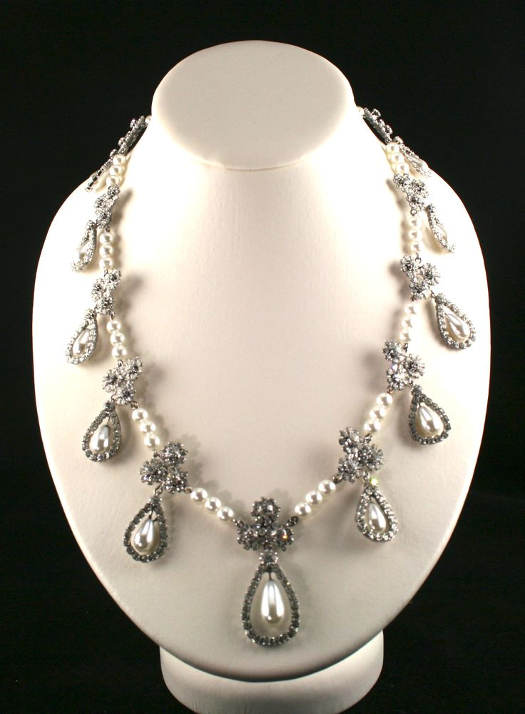 """Not a """"Romanov pearl and diamond necklace""""--it's another replica from royalexhibitions.com."""