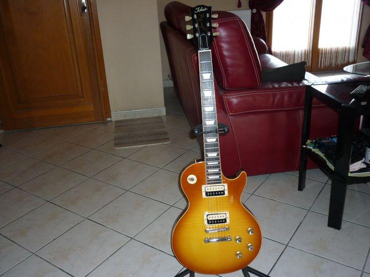 My Guitar -Tokai Love Rock- LS 95 Japan / Micros seymour duncan zébra Alcino 2 pro Slash/ tiran 10/46