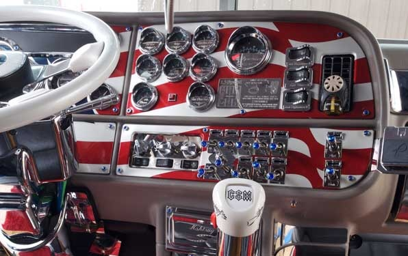 Image detail for -Custom Big Rig Interiors - Las Vegas and Fergus Truck Shows 2007 - Mid ...