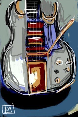 guitar art. #musicart www.pinterest.com/TheHitman14/music-art-%2B/