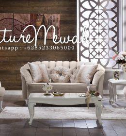 Kursi Sofa Tamu Minimalis Mewah Cat Duco