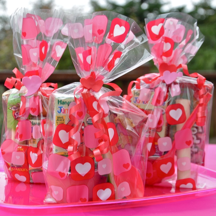 10 best images about prepackaged school snacks on for Valentine party crafts for school