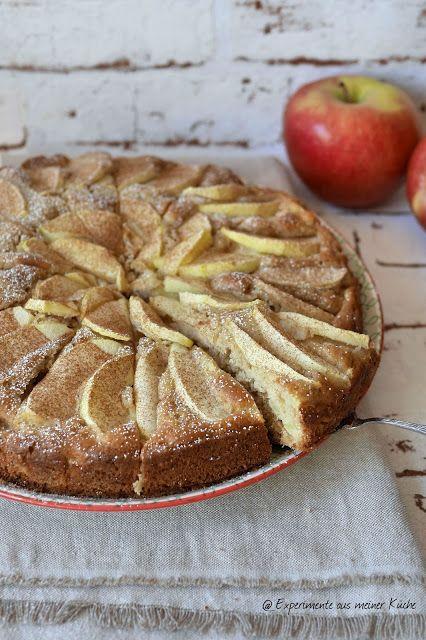Experimente aus meiner Küche: Saftiger Apfelkuchen