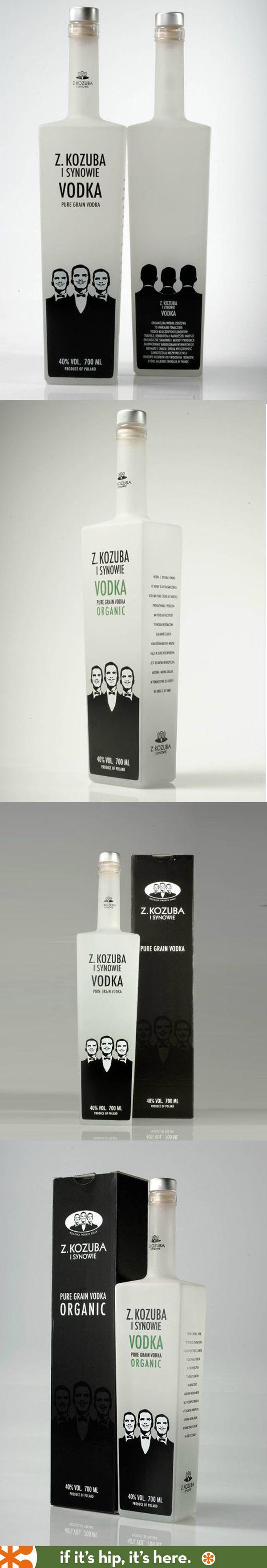 Z. Kozuba I Synowie's Organic Vodka bottle and box