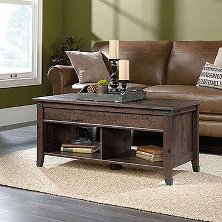 Carson Forge Lift-Top Coffee TableWashington Cherr | 420421 | Sauder Woodworking | AFW