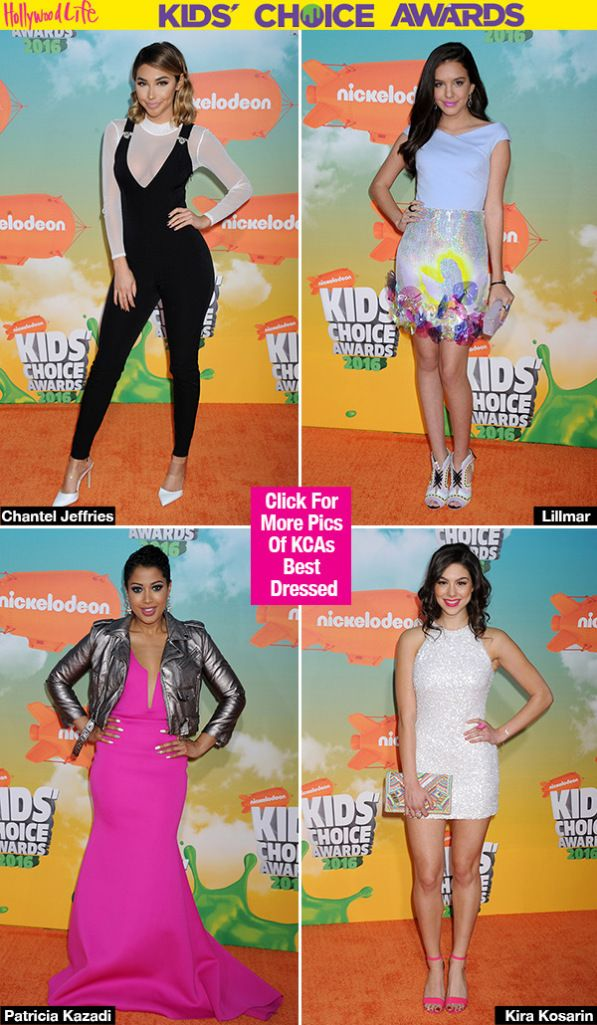 From Selena Gomez to Zendaya, so many stylish stars stepped out for the KCAs! See who topped our Kids' Choice Awards best dressed list & VOTE for who YOU think rocked the best get-up of the night.
