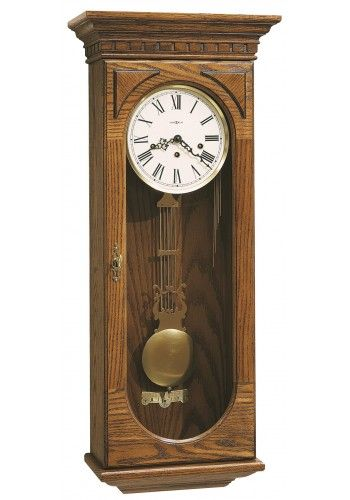 613-110 Westmont, Howard Miller Wall Clock, Oak Yorkshire Finish