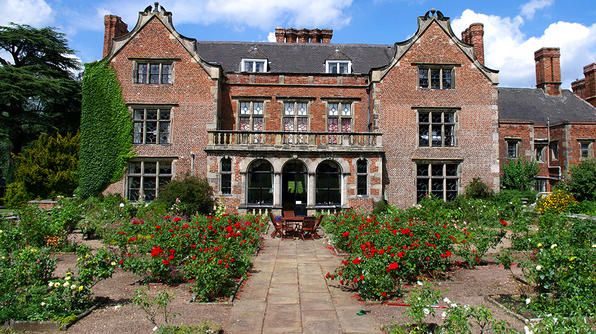 Dating back to the 16th century, this 300-acre sprawling estate in the rolling hills of Nottinghamshire  is the red-brick English manor house known as Thrumpton Hall.