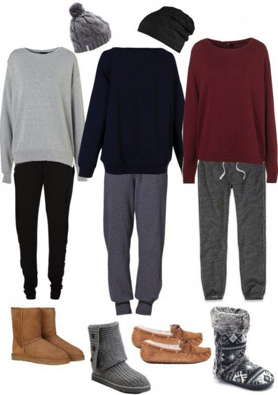 Casual hang out clothes - for students who come in the kitchen scene?
