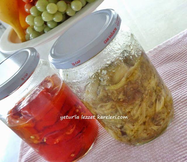 .Közlenmiş Patlıcan Konservesi..yetur'la lezzet kareleri: kış hazırlıkları