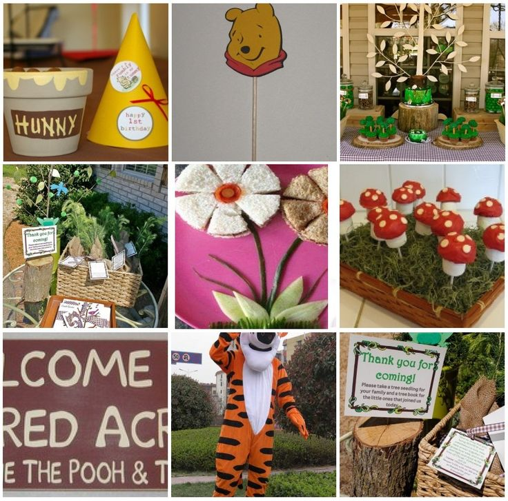 ... Pooh party on Pinterest  Winnie the pooh, Piglets and Winnie the pooh