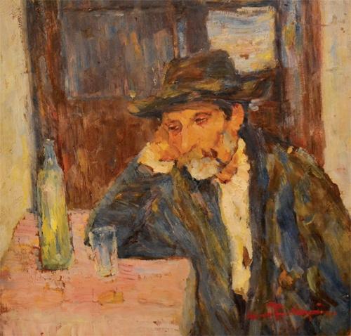 Rudolf Schweitzer-Cumpăna - Paharul de absint