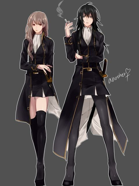 Gintama Genderbend - Hijikata Toushirou, Okita Sougo
