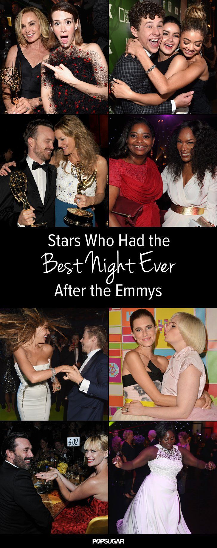 Pin for Later: Best Night Ever? These Stars Had the Most Fun After the Emmys