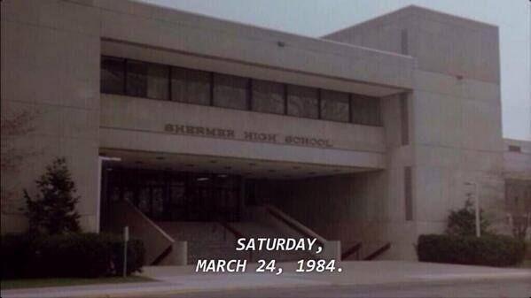 The Breakfast Club met for detention thirty years ago today.Ago Today, The Breakfast Club, 30Years, Years Ago, Club Met, Movie, Thebreakfastclub, Detention, 30 Years