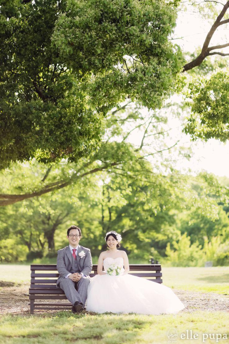 緑いっぱい万博公園*前撮り |*elle pupa blog*