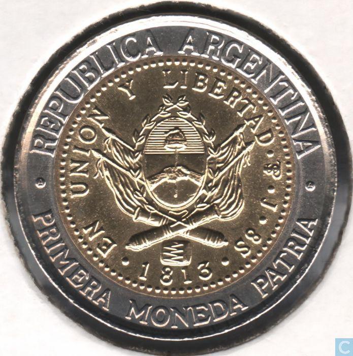 Coins - Argentina - Argentina 1 peso 1994