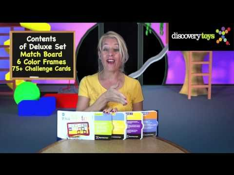 ▶ Discovery Toys - It's a Match! Deluxe Set - YouTube