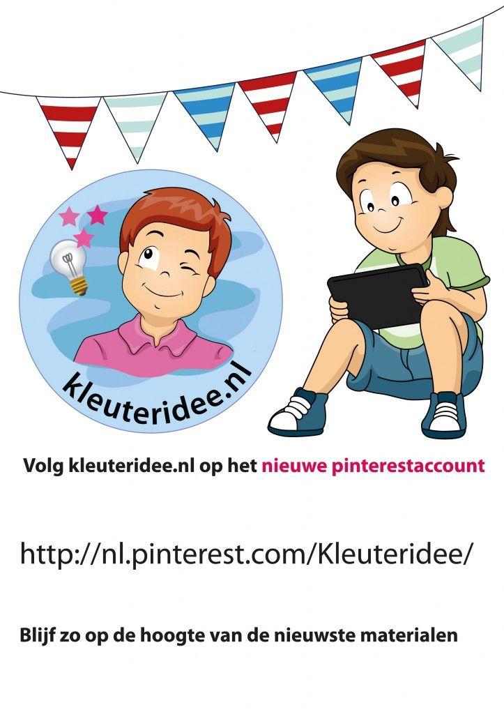 Nieuw pinterestaccount kleuteridee.nl
