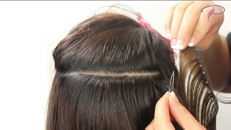 Micro Bond Weave Hair Extensions 109
