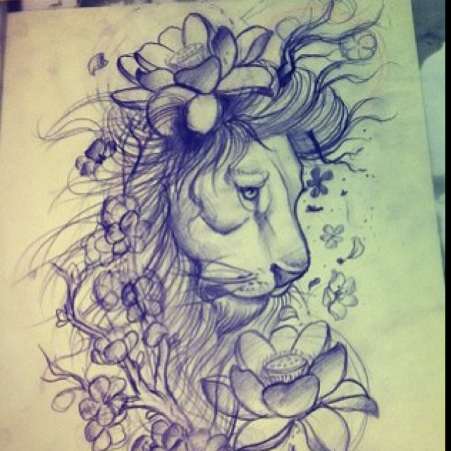 Sweet lion just tone the flowers down a little bit. Half