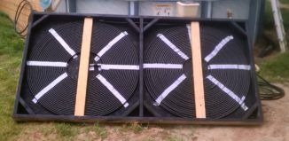 DIY Video : How to build a Simple Homemade Solar Pool Heater for around $80 using easily available materials