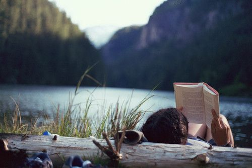 read a book in a beautiful place.