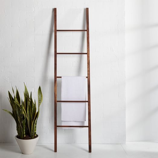 Tenebras Dressing Ladder - Black Walnut   west elm Want and need for my bedroom :)