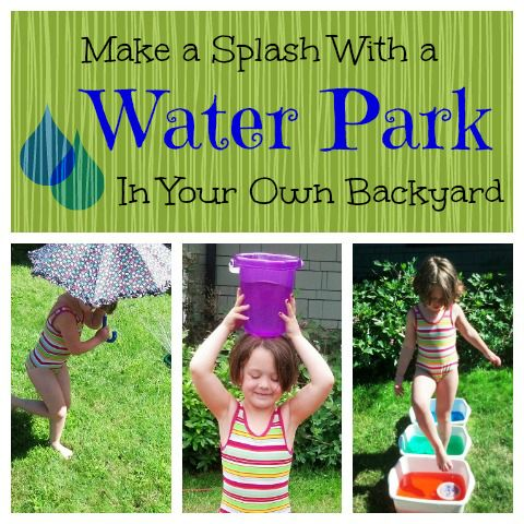Water obstacle course: use your imagination and supplies to create wet and wonderful water challenges your kids will love.