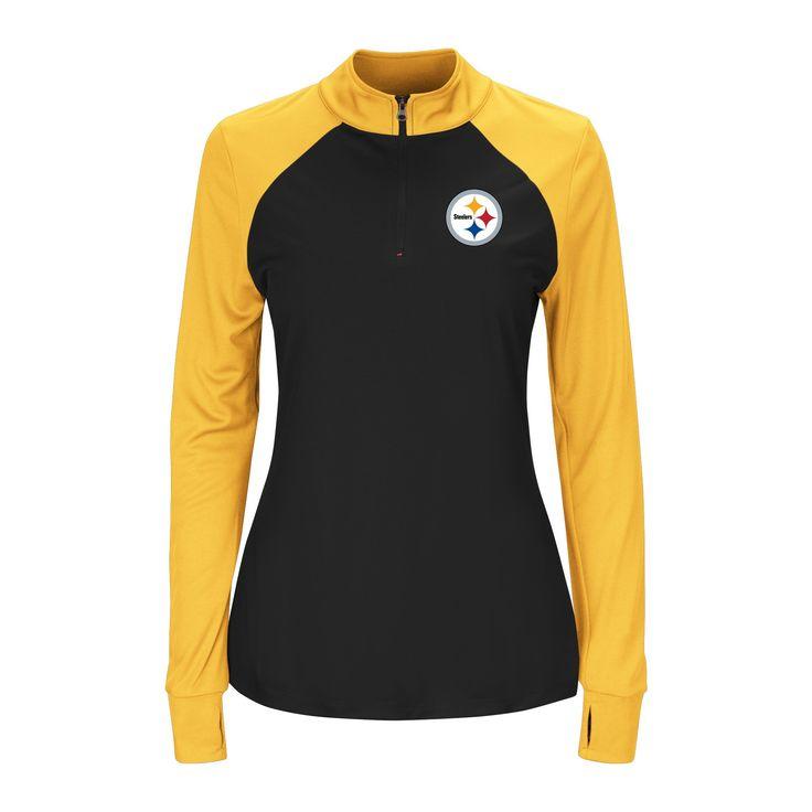 Pittsburgh Steelers Sweatshirt XL, Women's, Gray Multicolored