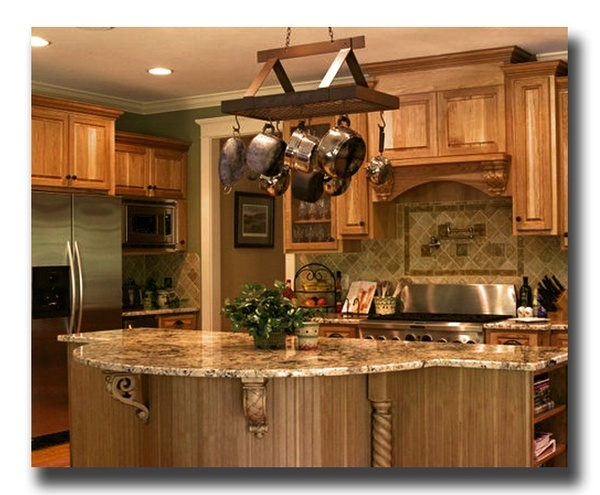 Hickory Cabinets Kitchens Pinterest Hickory Cabinets House And Kitchens