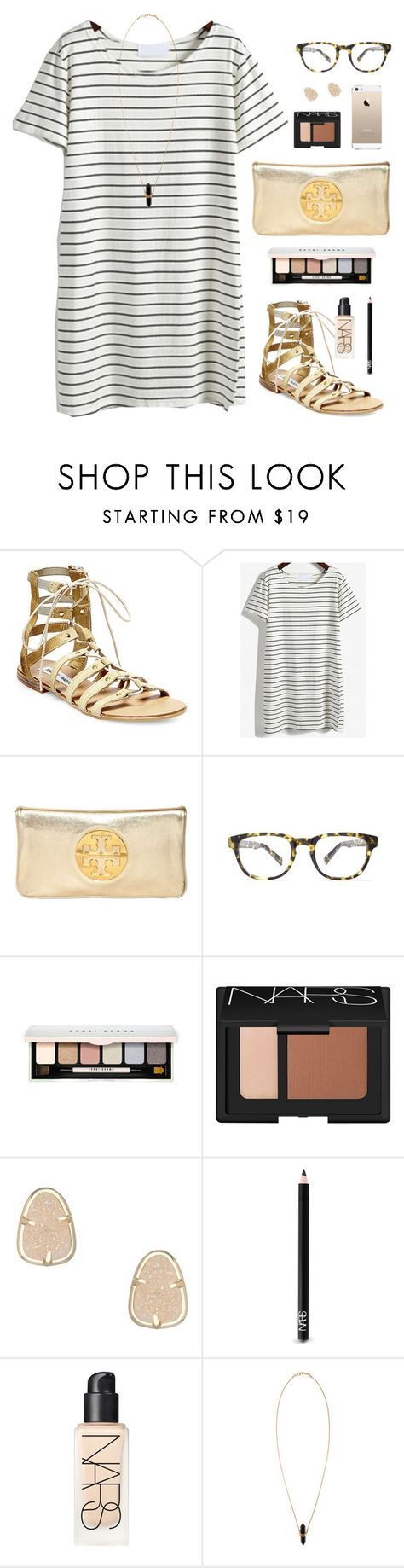 """sry I've been busy this week!!"" by classically-preppy ❤ liked on Polyvore featuring Steve Madden, Tory Burch, Warby Parker, Bobbi Brown Cosmetics, NARS Cosmetics, Kendra Scott and Isabel Marant"