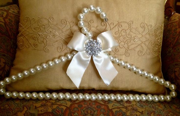 A very elegant bridal dress hanger. 35.00. Pay Pal